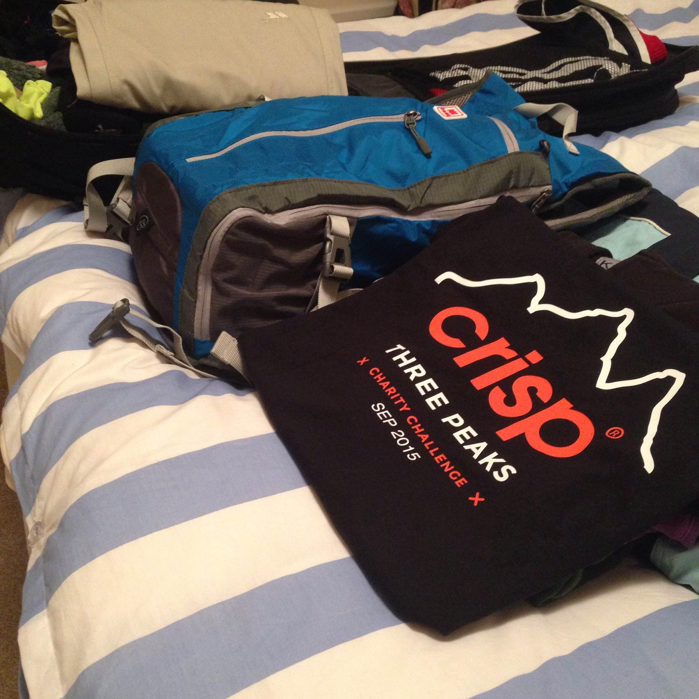 Crisp three peaks challenge clothing