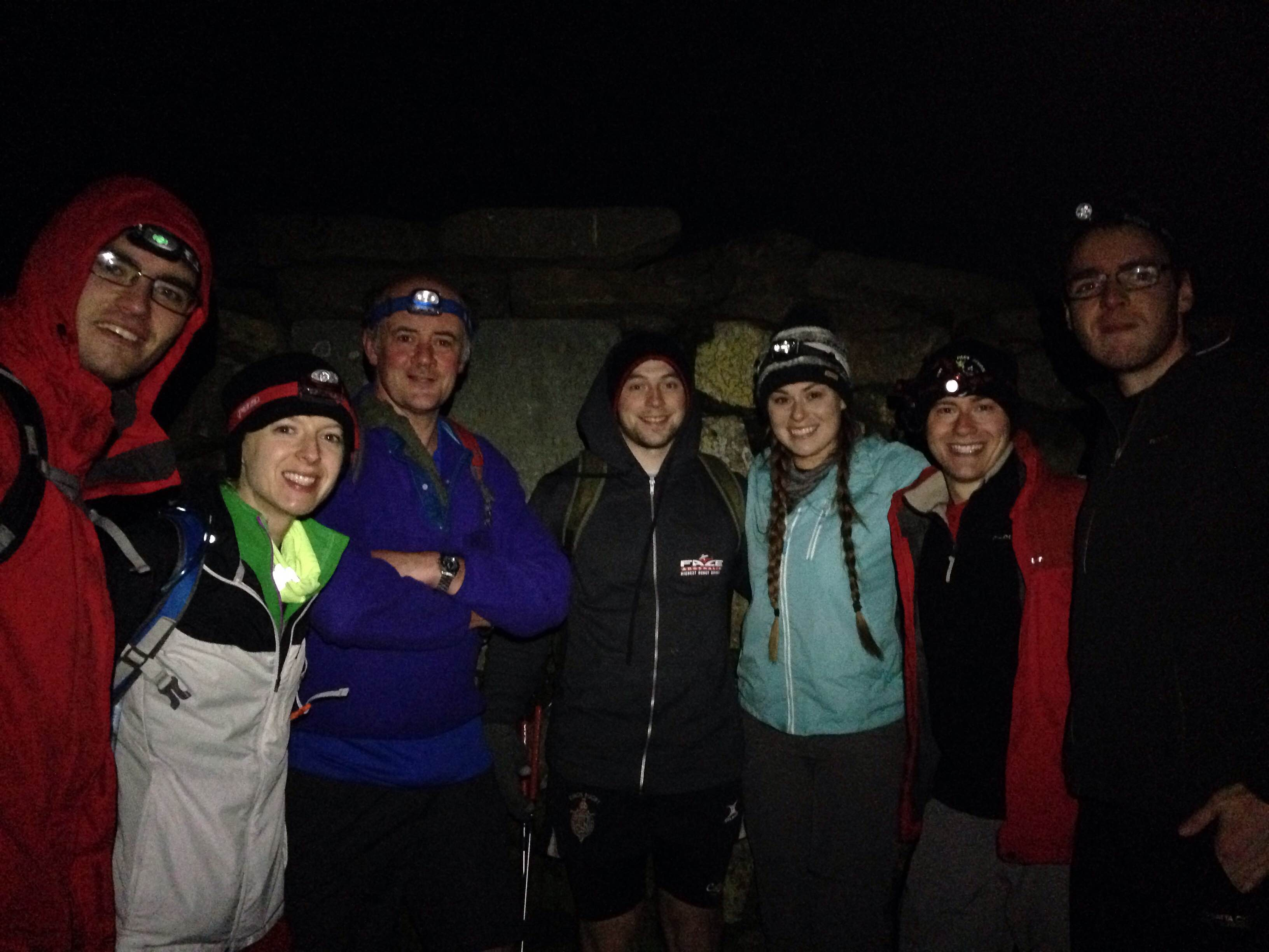 Crip staff on Scafell Pike