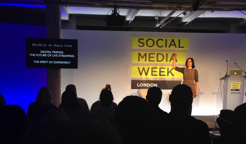 Social Media Week speaker